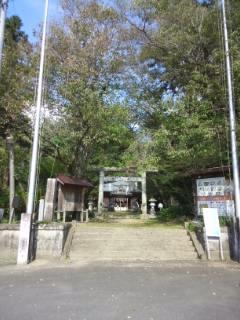 桜川磯部稲村神社の鳥居