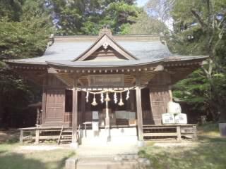桜川磯部稲村神社の本殿