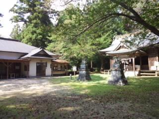 桜川磯部稲村神社の建物その他