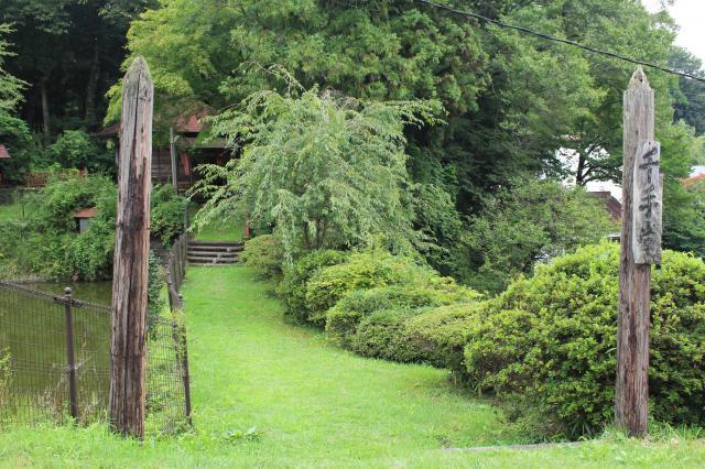 岩手県千手院の庭園