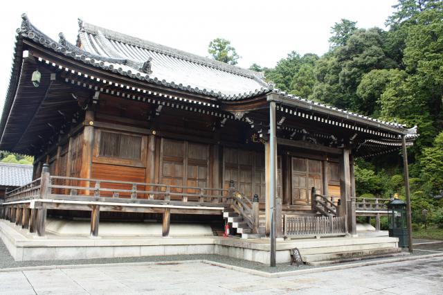 鏑射寺の本殿