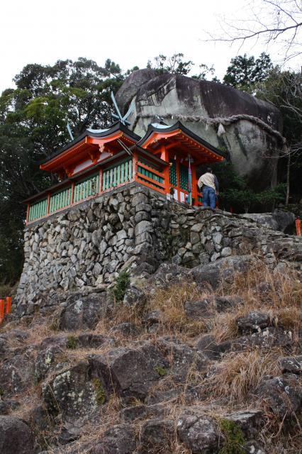 和歌山県神倉神社の本殿