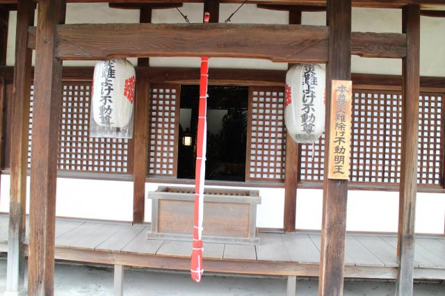 京都府最勝院の本殿