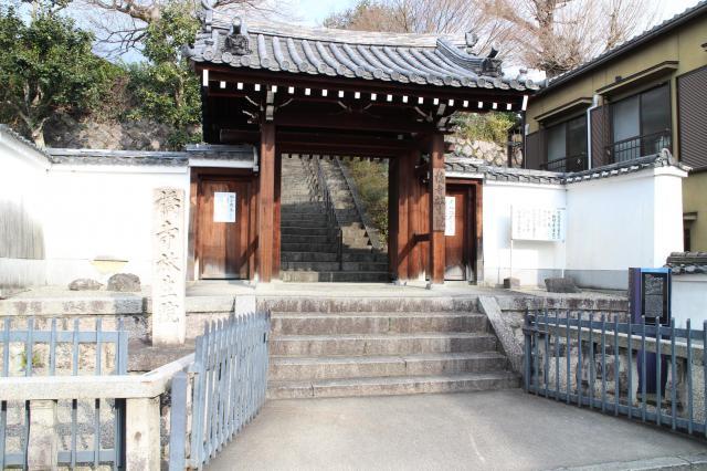 京都府放生院の山門