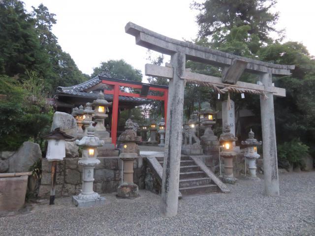 奈良県春日神社の鳥居