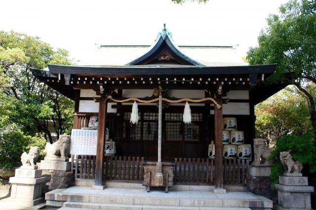 七宮神社の本殿