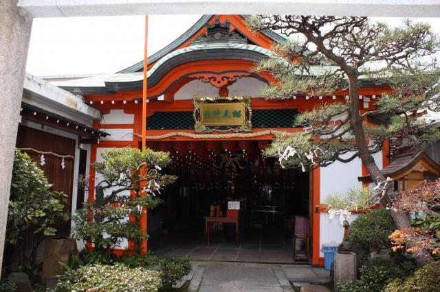 松尾稲荷神社の本殿
