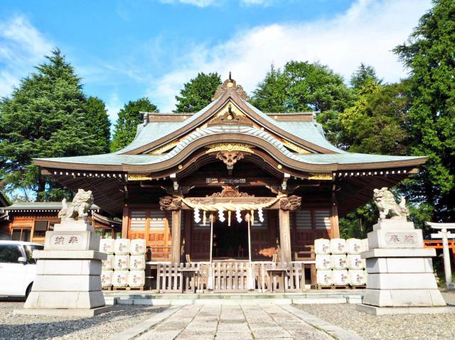神峰神社の本殿