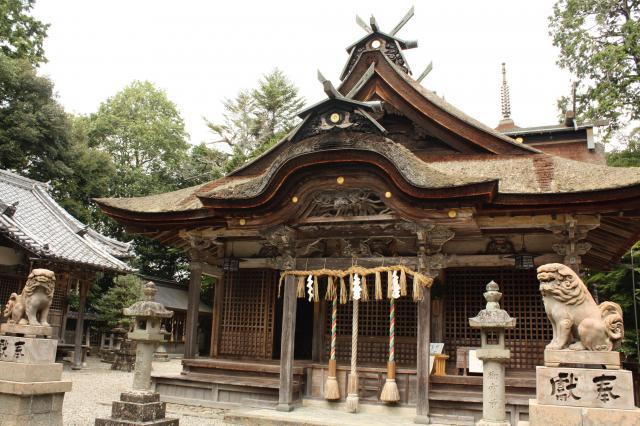 兵庫県柏原八幡宮(丹波柏原の厄神さん)の本殿