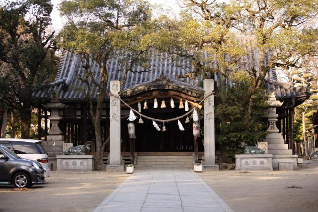 英賀神社の本殿