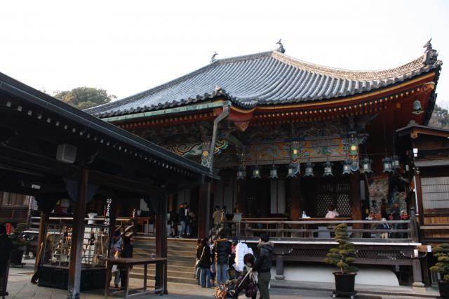 兵庫県中山寺の本殿