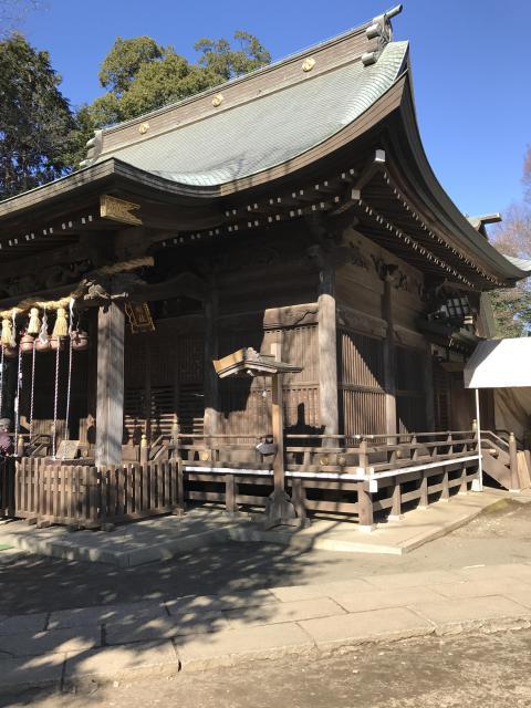 東京都豊鹿嶋神社の建物その他