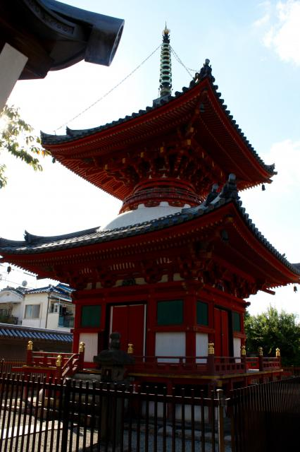長遠寺の塔