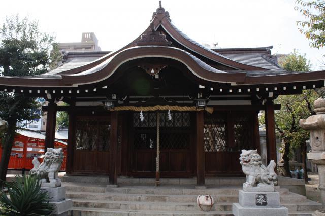 八宮神社の本殿