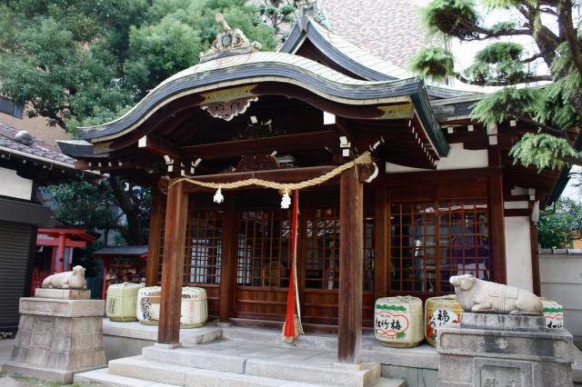 走水神社の本殿
