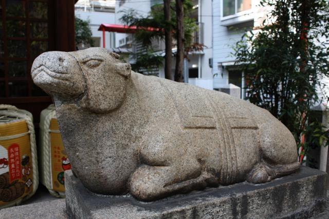 走水神社の狛犬