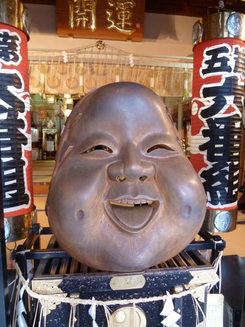 鷲神社の像