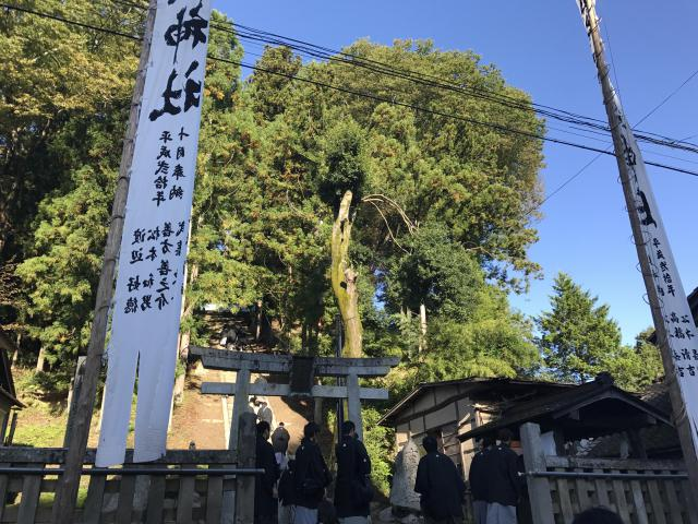 福島県塩松神社の本殿