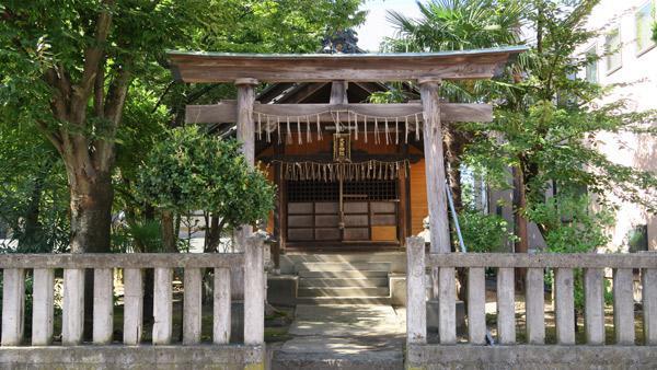 大年神社の鳥居