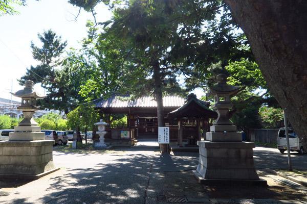 新潟県蒲原神社の建物その他