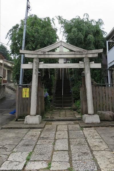 東京都日枝神社の鳥居