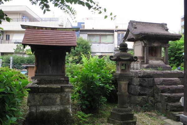 東京都日枝神社の末社