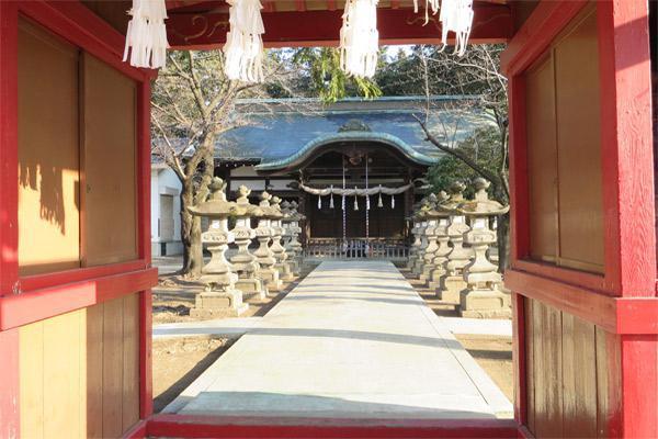 千塚八幡神社の山門