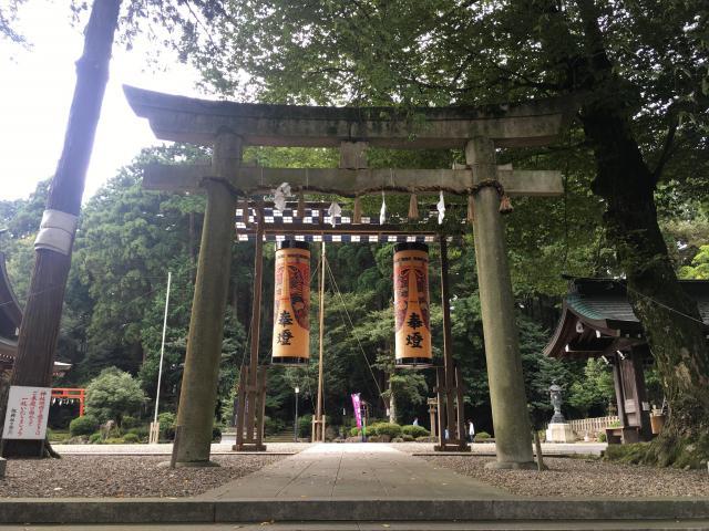 福井県劒神社の鳥居