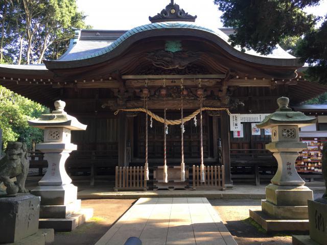 東京都八幡社の本殿