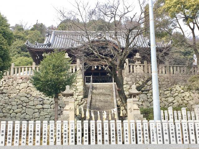 荒川神社の本殿