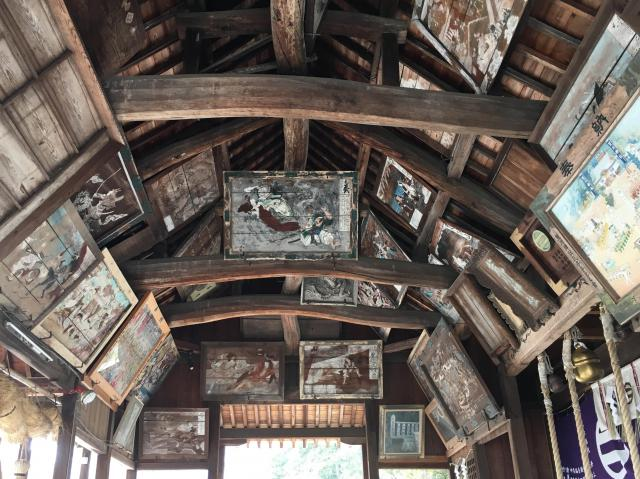 荒川神社の芸術
