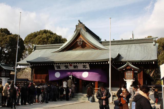 熊本県八代宮の本殿