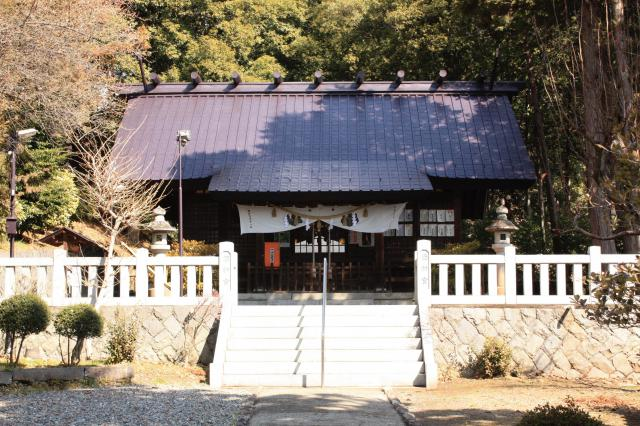 山梨県酒折宮の本殿