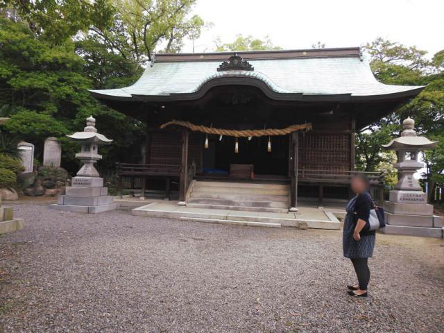 香川県宇夫階神社の本殿