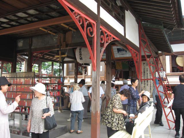 岐阜県乙津寺(鏡島弘法、梅寺)の本殿