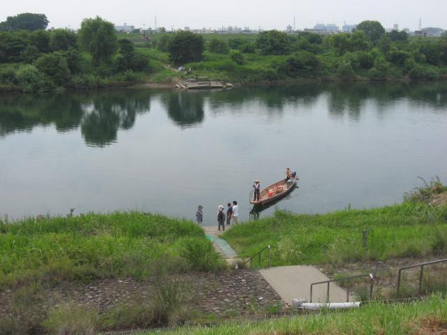 岐阜県乙津寺(鏡島弘法、梅寺)の自然