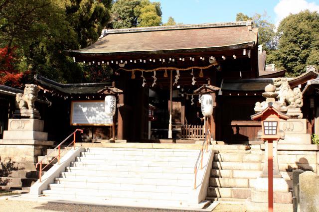 京都府離宮八幡宮の本殿