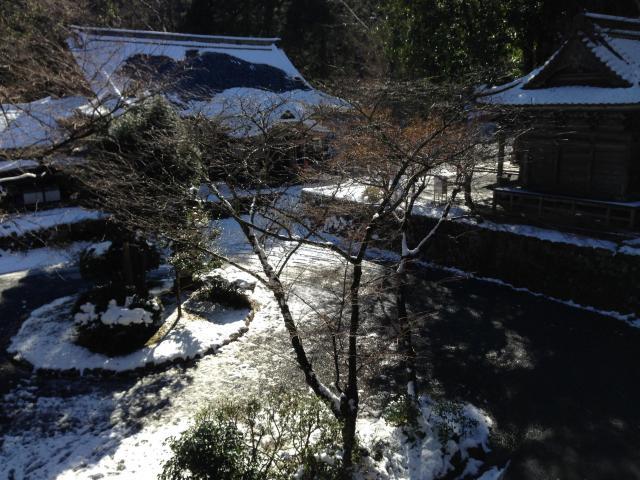 愛媛県明石寺の庭園