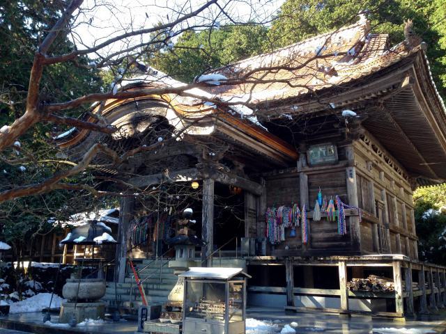 愛媛県明石寺の本殿