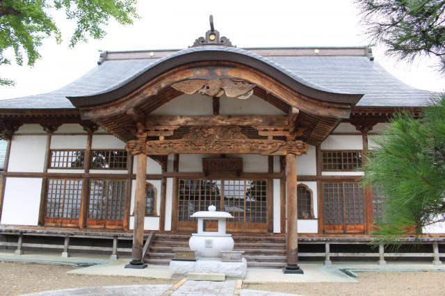 観福寺の本殿