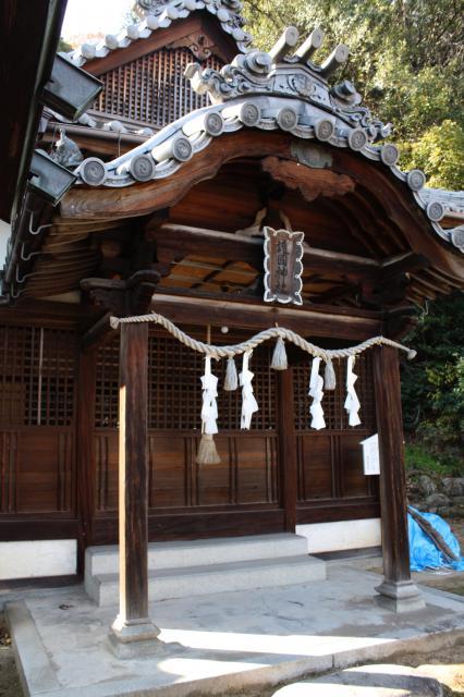尾道護国神社の本殿