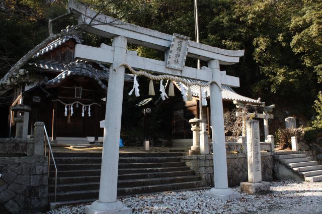 尾道護国神社の鳥居