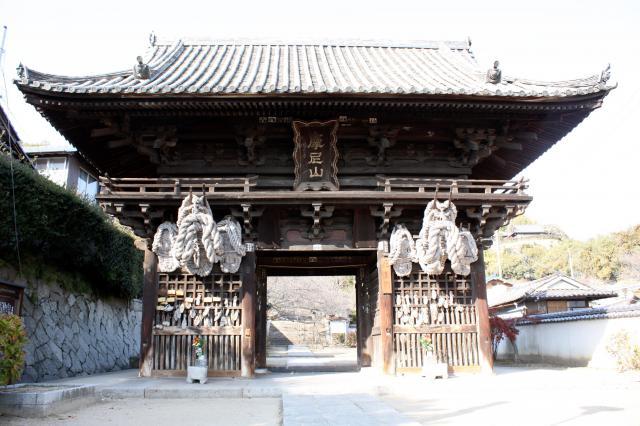 西国寺の山門