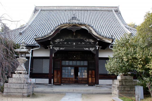 広島県天寧寺の本殿