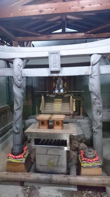 白龍神社の鳥居
