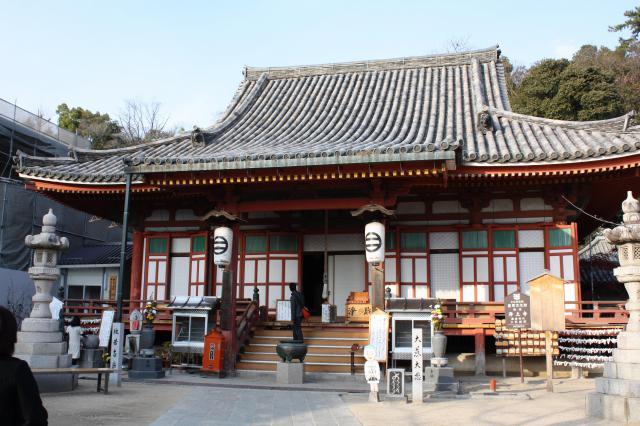 広島県浄土寺の本殿