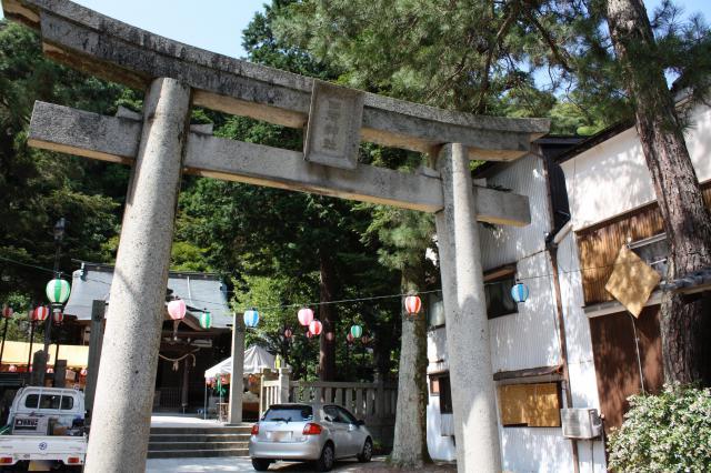 兵庫県四所神社の本殿