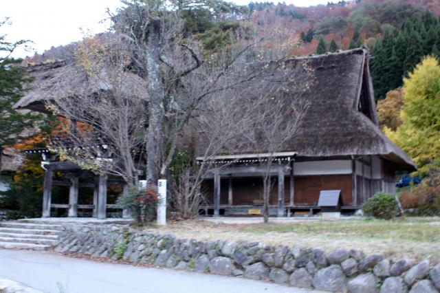 岐阜県明善寺の建物その他