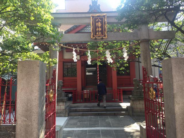 東京都八幡神社の鳥居