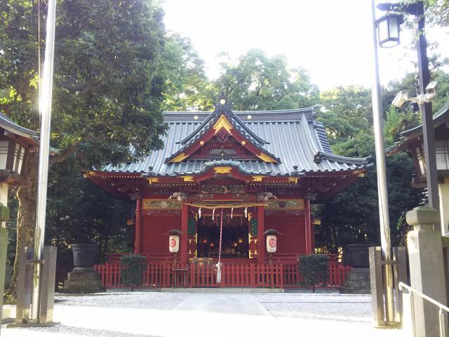 埼玉県金鑚神社の本殿